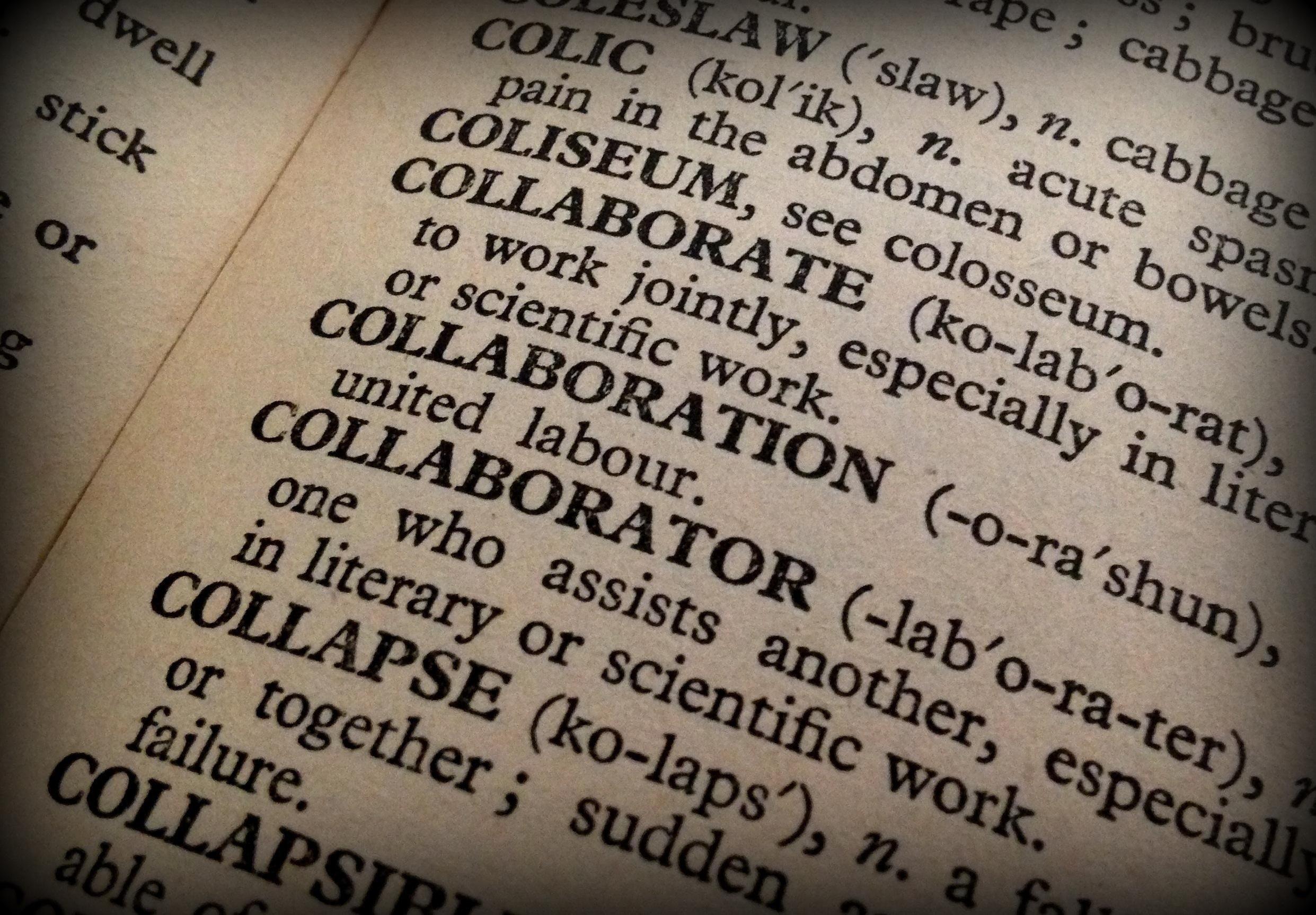 Business Friend Collaboration Definition