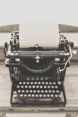 Business Friend Typewriter